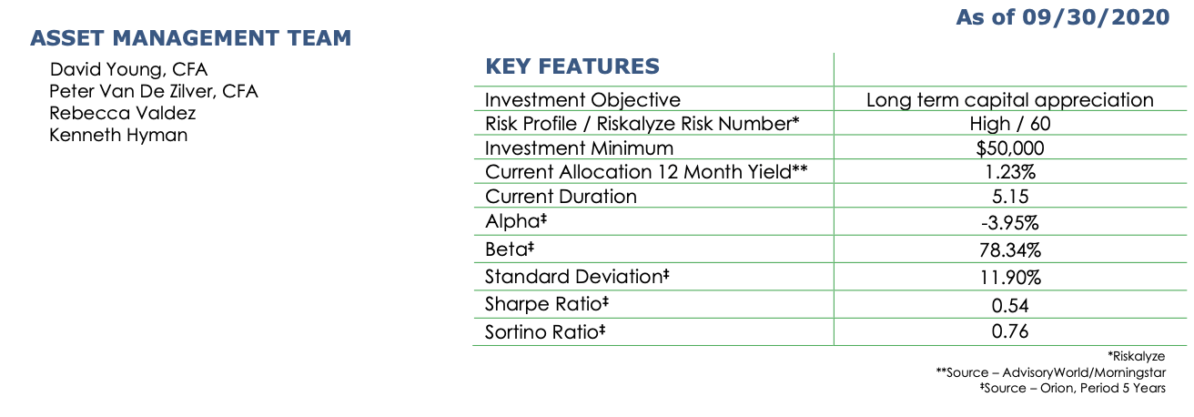 Diversified Equity